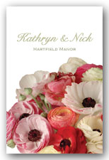 Bright Ranunculus Invitation