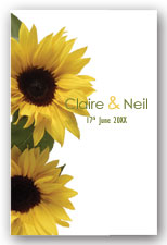 Sunflowers Invitation