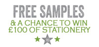 Free of charge samples available