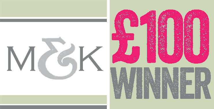 £100 sample request winner for July 2014