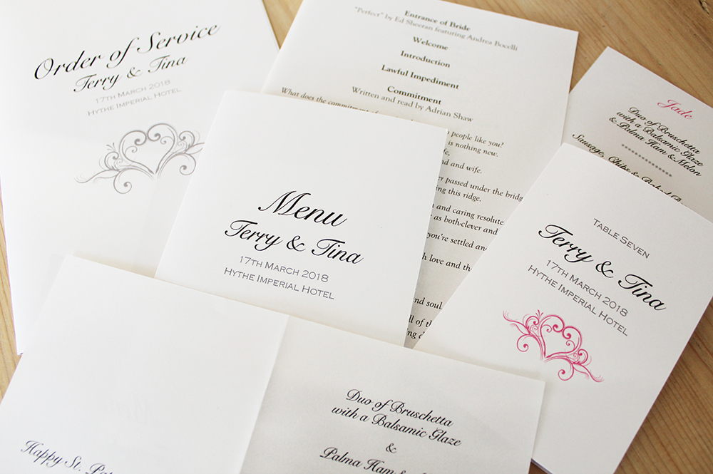 Brides images from Millbank and Kent wedding stationery